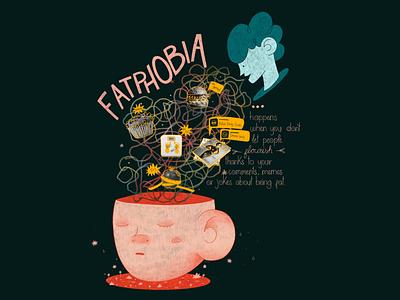 FatPhobia - Body Positivity procreate selflove bodypositive fatphobia