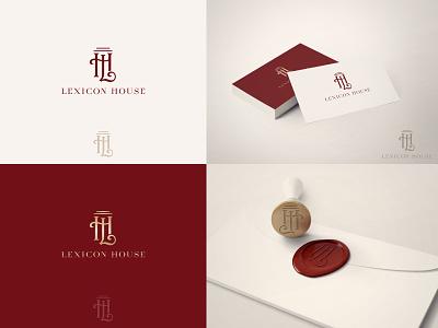 Lehixon House - Logo typogaphy logotype elegant classic logo