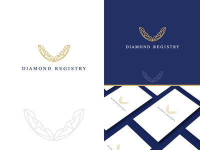 Diamond Registry -Logo and Brand ID