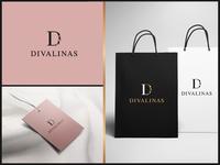 Divalinas - Logo design