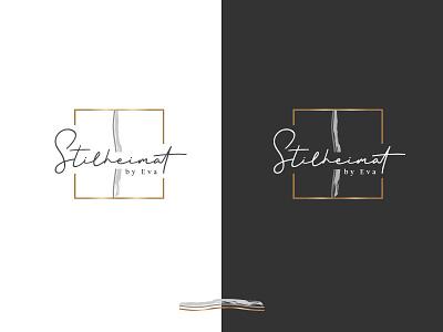 Stilheimat - Logo1 brushes classy home decor stylist handwritten hand lettering design elegant art creative hand drawn logo
