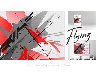 Flying - graphic digitalart creative art abstract graphic