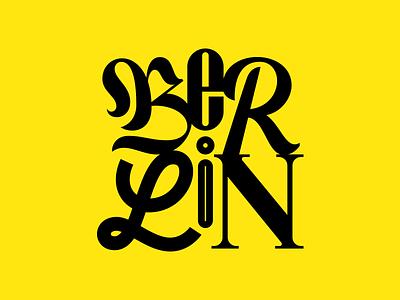 Berlin typeverything vector goodtype berlin typography type lettering