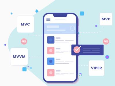 MVC vs MVVM vs MVP vs VIPER: Suitable for iOS Development ios architecture mvp ios app development mobile app development
