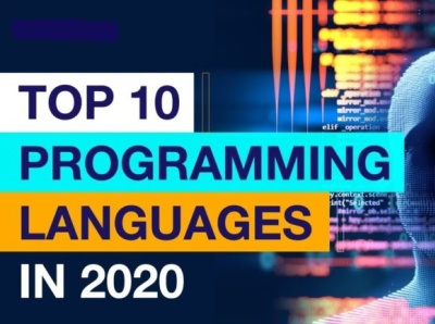 According to GitHub top 10 programming languages that will be us