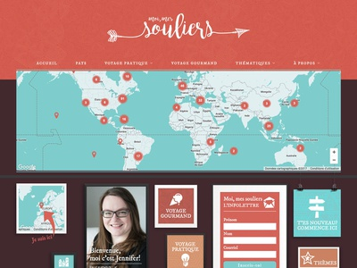 Moi, mes souliers responsive web ux ui graphic design branding