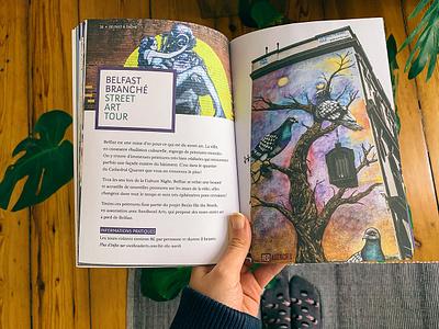 Northern Ireland Guide typography design book graphic design