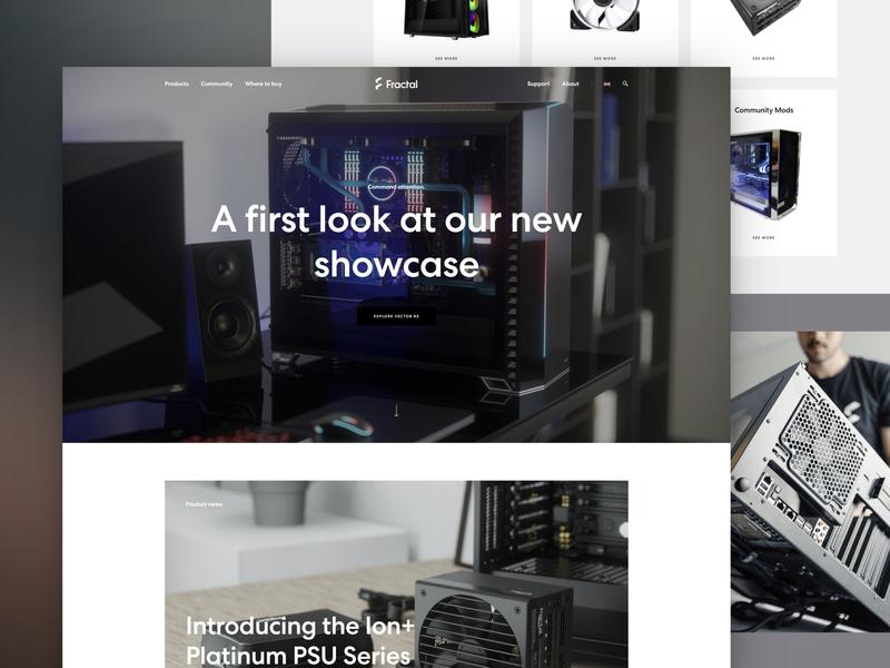 Fractal-design.com computer case gaming website electronics swedish scandinavian gaming