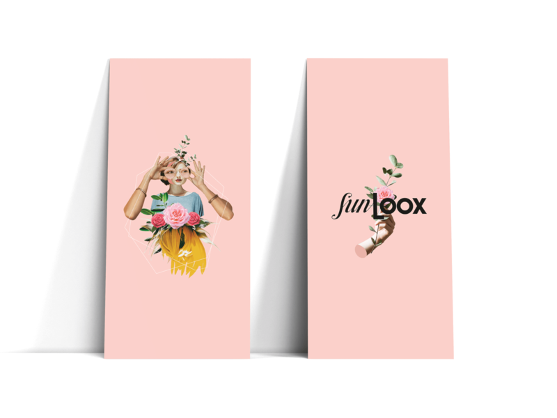 Spring Impressions SunLOOX campaign optic collage branding fashion campaign