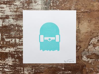 Do what you love. icon poster screenprint print glow-in-the-dark broken focused coffee polaroid skateboard