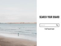Daily UI #022- Search
