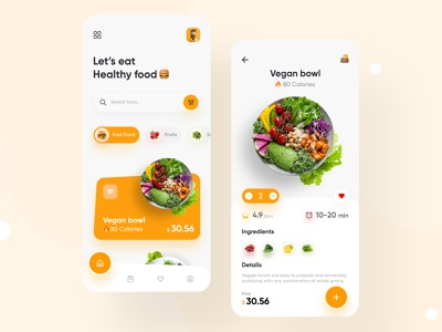 Food Delivery App restaurant food app delivery app interaction product order mobile menu meal ios eccommerce eat berger app dish delivery ux ui product design food