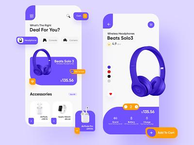 Apple Products App 2020 trends apple 2020 minimalist minimal ui8 interaction andoid shop ecommerce interface ios clean cards ecommerce app e-commerce app design app ux ui