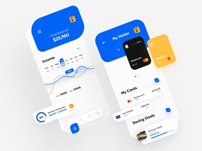 Finance Banking App ecommerce finnance bank app payemnt ui8 minimalist ios interface app design andoid app 2020 trends 2020 balance apple interaction ux ui minimal clean cards