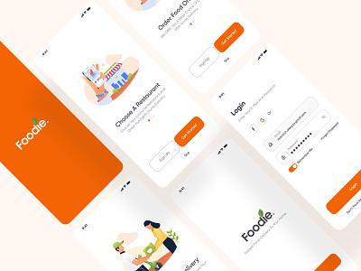 Foodie App sushi user experience food mobile app mobile delivery food app doordash uber eats apple layout ios app design interaction minimal clean app ux ui