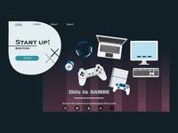 Gaming Platform UI