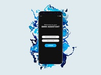 BMW Mobile App UI