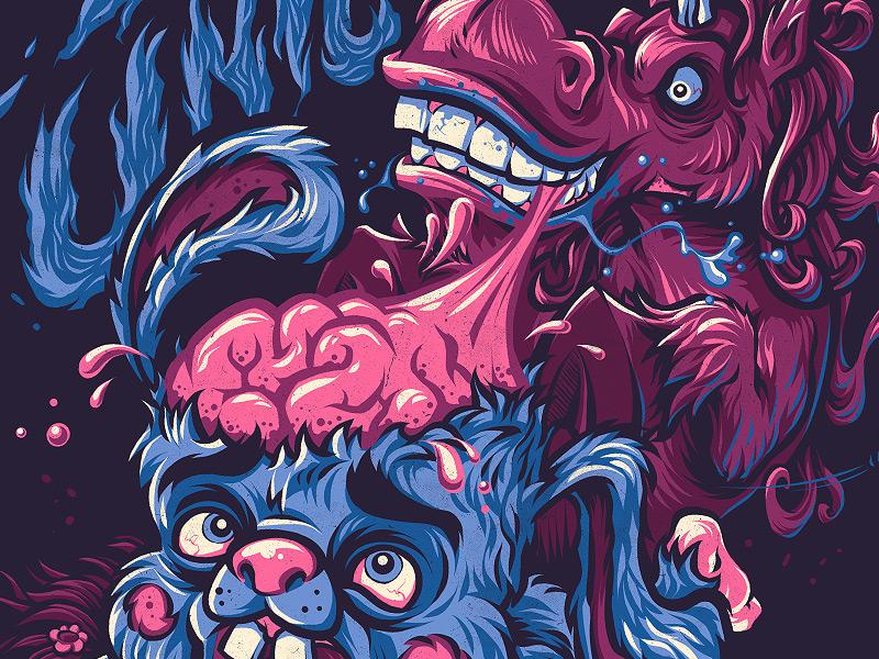 zombie unicorn and lex