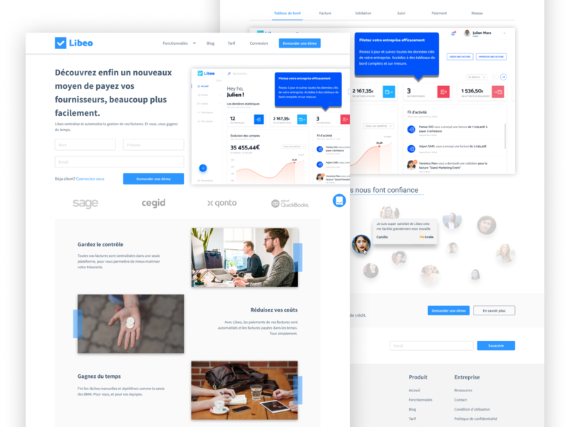 Redesign Homepage
