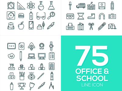 Office & School Icon Vol. 1