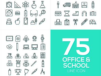 Office & School Icon Vol. 1 web app icon ui