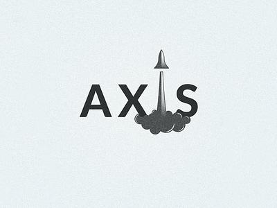 Logo Challenge #1 - Axis Logo space rocket illustrator photoshop gradient simple logo challenge design logo