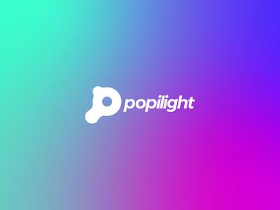 Popilight Unselected Logo vector colorful design graphic design brand branding logo