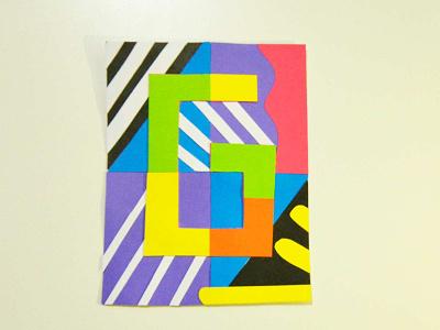 G ratitud craft handmade typography colorful