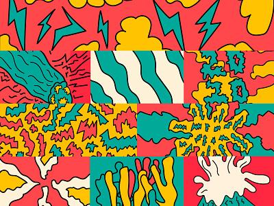 Desahogo 2020 abstract illustration ilustration colorful