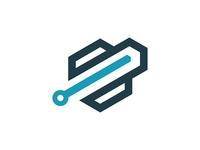 Tech Hexagon l Logo Design