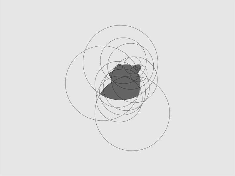 Bear l Process goldenratio bear design illustration brand