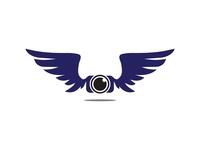 Wings Camera l Logo Design