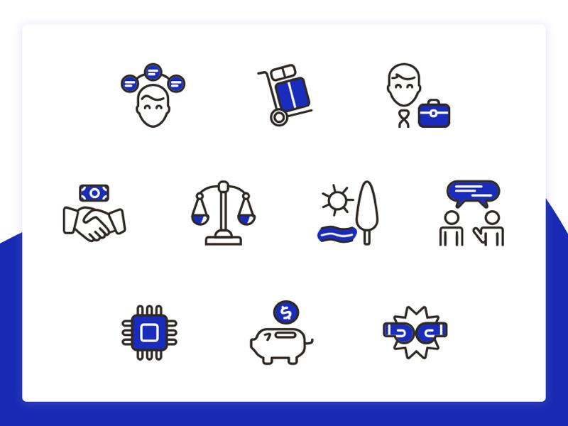 Dual Tone Icons drawing icon set icon icons