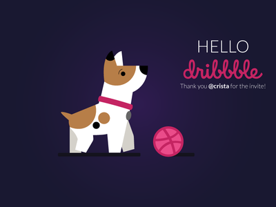 Dribbble Doggo