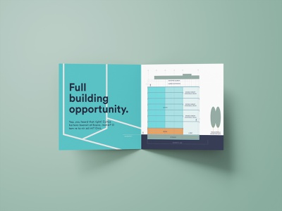 555 Washington (Availability.) design typography print logo brochure mockup layout identity grids graphic design branding