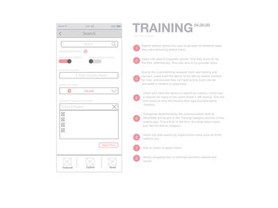 United Nations Training App - Training