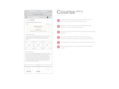 United Nations Training App - Course