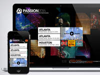 Passion 2015 Homepage
