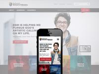 BSOM Website Design