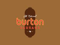 Burton Sausage Logo Option