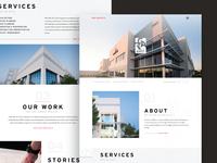 RGA Architects Web Design