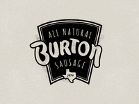 Burton Sausage Logo