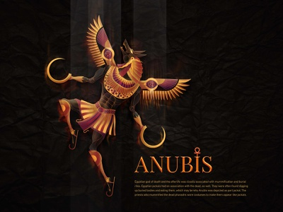 Anubis character mythology anubis conceptual illustration character art digital art vector art adobe illustrator editorial illustration illustration