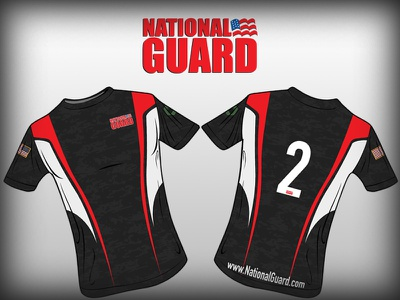 California National Guard Soccer Jersey sports jersey nationalguard soccer xeroavila murica vector camo california flag