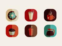 Coffee Shop Icons