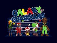 Galaxy of Guardians: Mashup Design Nintendo