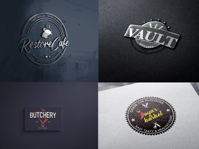 VIntage Logofolio 2021 type art logotype lettering typography star brand graphic design art logo app branding design icon wordmark badge midwest funky and fresh 70s vintage logo vintage