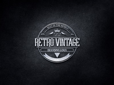 RETRO VINTAGE LOGO graphic design graphics lettering brand midwest 70s wordmark icon app graphic  design badge vintage vintage logo art logo typography design branding