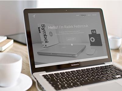 Portfolio 2013 Live! branding portfolio web design clean minimal personal simple webdesing website