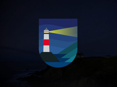 Lighthouse Badge Design pt2 patches patch outdoors outdoor logo outdoor mark logo design logo illustration icon graphic design branding badge adventure